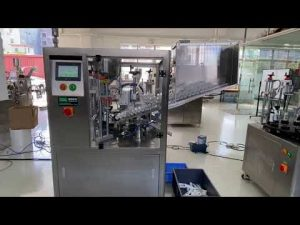 automatisk tetningsmaskin for plastrør for tannkrem for håndkrem