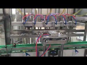 automatisk matolje, honning, syltetøy, sjampo væske fylling capping maskin
