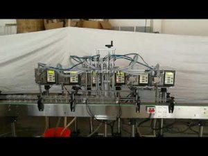 liten automatisk girpumpe flaske såpe væske fylling maskin pris