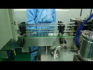 30 ml til 100 ml dobbeltspors påfyllings- og skruemaskin for rund flaske