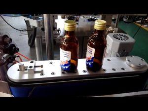selvklebende klistremerke automatisk runde flaskemerkingsmaskin