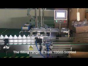 automatisk 2-dyseservo-sjampo flaske maskin