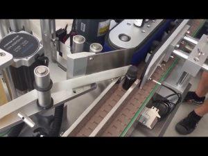 3000 bph automatiske vertikale hetteglassflasker klistremerke etikett maskin