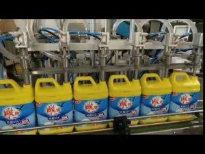 automatisk 8 hoder vaskevaskemiddel sjampo flaske maskin