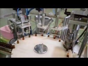 automatisk e-væske 10 ml flaske fylle pluggmaskin