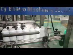 vaskemiddel flaske fylle maskin, vaske vaskemiddel flytende produksjonslinje