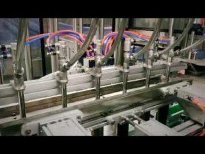 automatisk stempel lineært vaskemiddel, sjampo, viskøs tappemaskin for smøremiddelolje