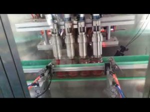 automatisk tomatsaus, chilisaus, yoghurt, syltetøy fylle maskin produsent