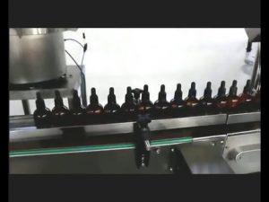 automatisk neglelakk parfyme øyedråper potetfylling capping machine