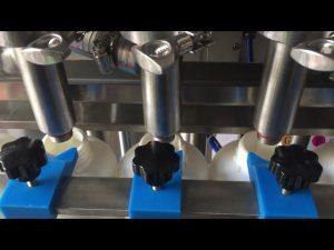 full automatisk stempel sjampo flytende flaske fylle maskin prisen
