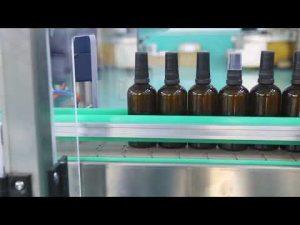 høy nøyaktighet motor rustfritt stål plattform cbd olje flaske fylling maskin