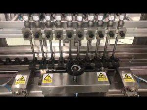 flytende alkoholisk krem lineær fyllemaskin, honning krukke liten flaske oljefyllstoff
