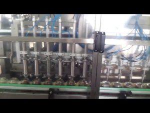 automatisk glass honning krukke yoghurt fylling tetningsmaskin