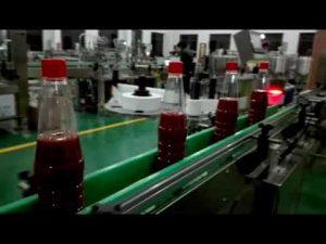 høyhastighets full automatisk flaskeutfyllingsmaskin for ketchup, syltetøy, saus