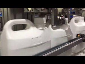 automatisk 4 dyser flytende og krem digital fyllmaskin