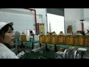 smøre mobil motor hydraulisk bilpumpe oljeflaske fylle produksjonslinje maskin