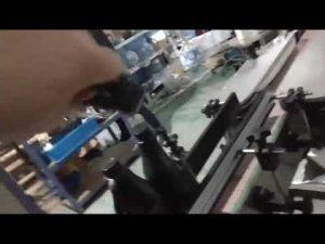 automatisk inline rett glassflaske aluminiums hette klappapparat